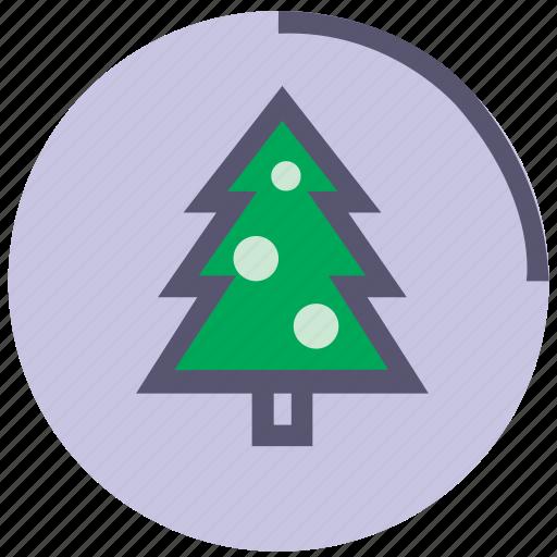 christmas, fir, natural, nature, needles, pine, tree icon