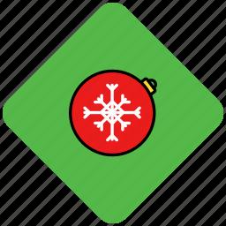 christmas, globe, santa, snow, snowflake icon