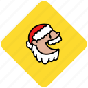 christmas, claus, holiday, man, old, santa icon
