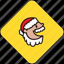 christmas, claus, holiday, man, old, santa