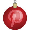 christmas, media, pinterest, set, social, toys icon