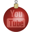 christmas, media, set, social, toys, youtube icon