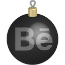 behance, christmas, media, set, social, toys icon