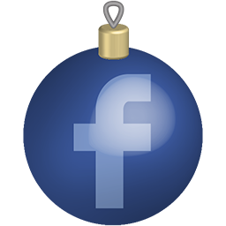 christmas, facebook, media, set, social, toys icon