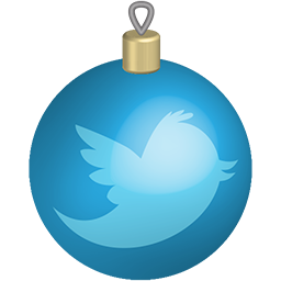 christmas, media, set, social, toys, twitter icon