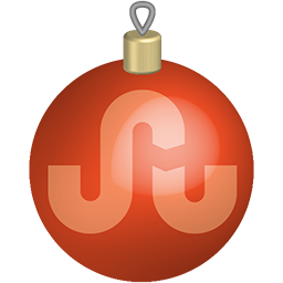 Christmas, media, set, social, stumbleupon, toys icon - Free download