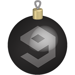 christmas, media, set, social, toys icon