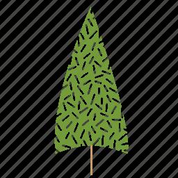 christmas tree, tree icon