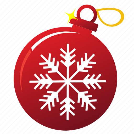 ball, christmas, holiday, new year, snowflakes, tree ball, xmas icon