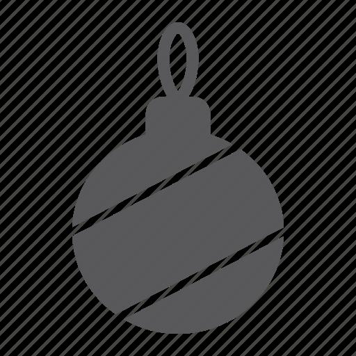 ball, bauble, christmas, decoration, holiday, tree, xmas icon