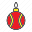 ball, bauble, christmas, decoration, tree, xmas icon