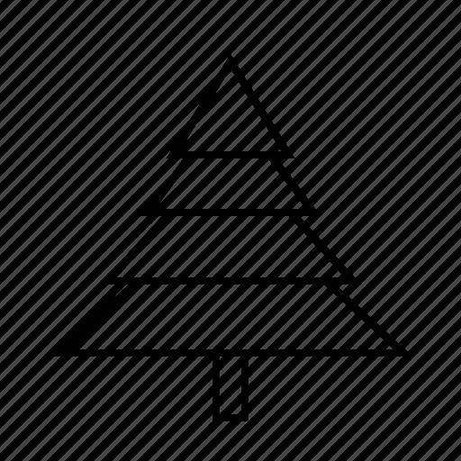 christmas, christmastree, decoration, holidays, sharp icon