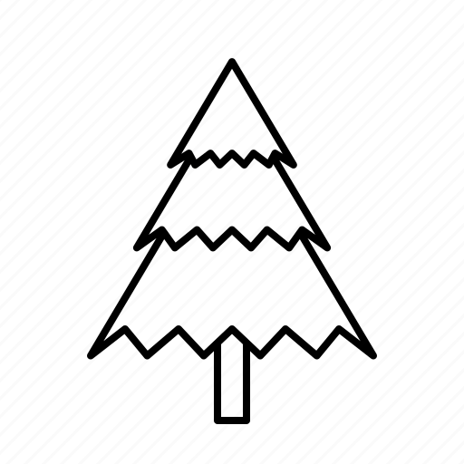 christmas, christmastree, decoration, holidays, layers icon