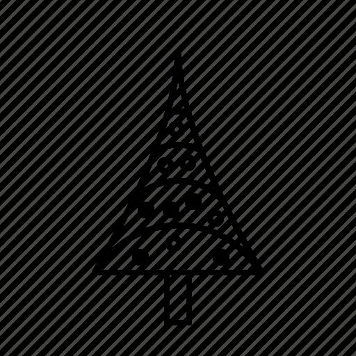 bauble, christmas, christmastree, decoration, holidays, modern icon