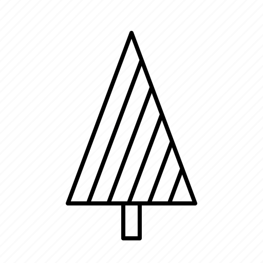 Christmas, christmastree, decoration, holidays, lines, modern icon - Download on Iconfinder