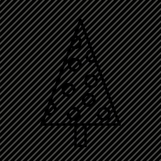 bauble, christmas, christmastree, decoration, holidays icon