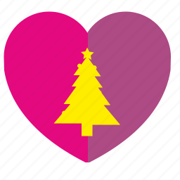 fir, heart, like, love, romantic icon