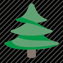 christmas, fir, plant, toy, tree icon