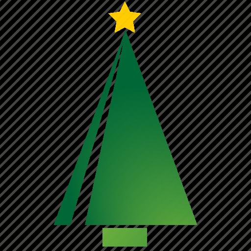 cristmas, tree icon
