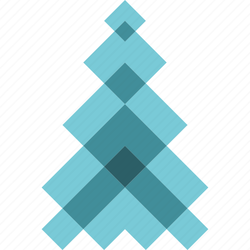 abstract, christmas, holiday, new year, tree, winter icon