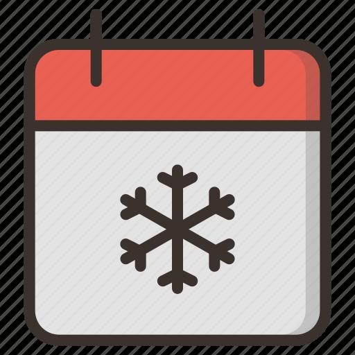 calendar, celebration, christmas, date, december, festival, new year icon