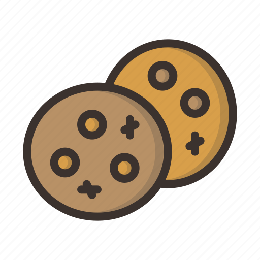 bake, celebration, chip, chocolate, christmas, cookie, cookies icon