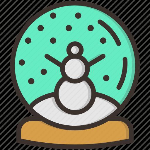 ball, christmas, crystal, gift, present, snow, snowman icon