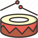 beat, celebration, drums, merry, music, play icon