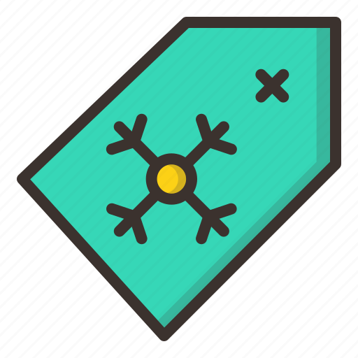 christmas, new year, price, purchase, shopping, tag, winter icon