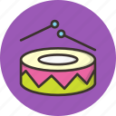 beat, celebration, drums, joy, merry, music, play icon