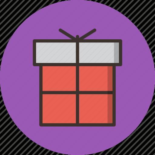 birthday, box, celebration, christmas, gift, new year, present icon