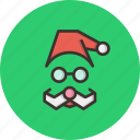 cap, celebration, christmas, claus, gift, present, santa icon