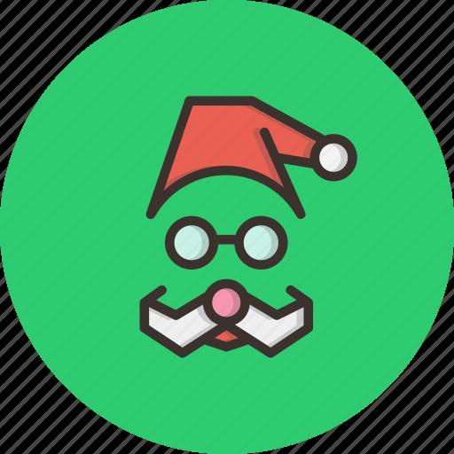 cap, celebration, christmas, claus, gift, present, santa icon