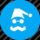 cap, christmas, claus, gift, present, santa icon
