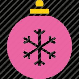 ball, bauble, celebration, christmas, decoration, new year icon
