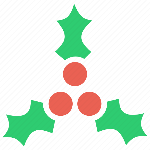berries, berry, cake, christmas, fruit, holly, new year icon