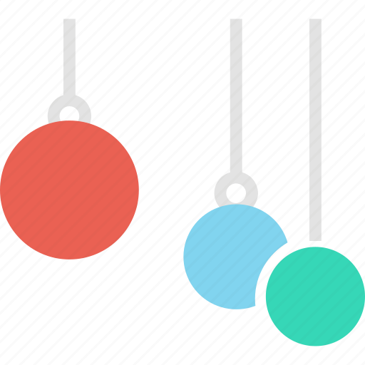 bauble, celebration, christmas, decoration, light, new year, ornaments icon