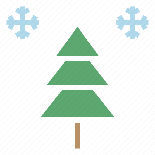 celebration, christmas, decoration, new year, snow, tree, winter icon