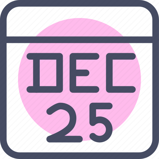 calendar, christmas, date, day, december, event, festival icon