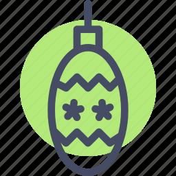 bauble, celebration, christmas, decoration, lantern, new year, ornament icon