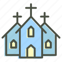 building, christian, christianity, church, cross, institution