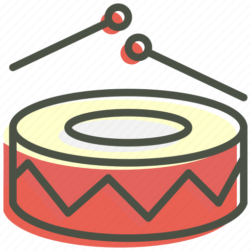 beat, celebration, drums, fun, merry, music, play icon