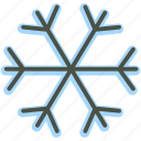 christmas, snow, snowflake, xmas icon