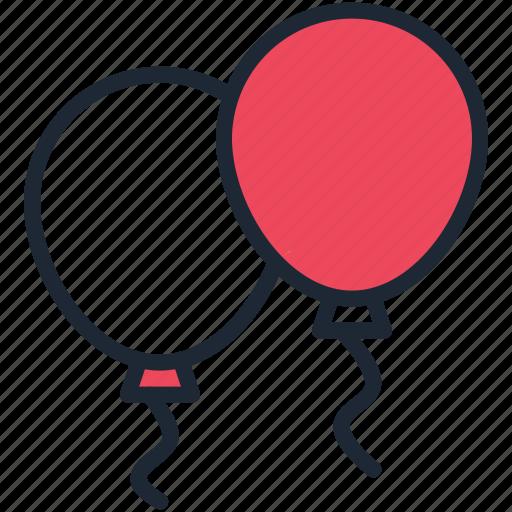 balloon, balloons, birthday, celebration, christmas, festival, new year icon