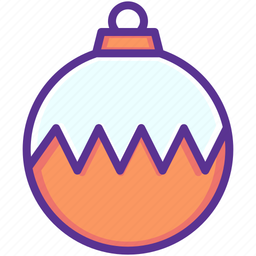 ball, bauble, christmas, decoration, new year icon