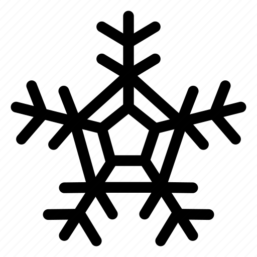 christmas, cold, forecast, frost, snow, snowflake, weather icon