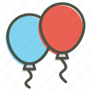 balloon, celebration icon