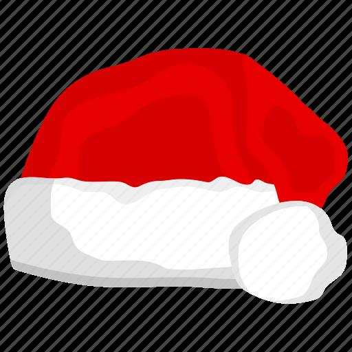 christmas, hat, ornament, santa, santa hat icon