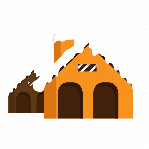christmas, house, winter icon