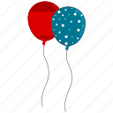 ballon, party, valentine icon